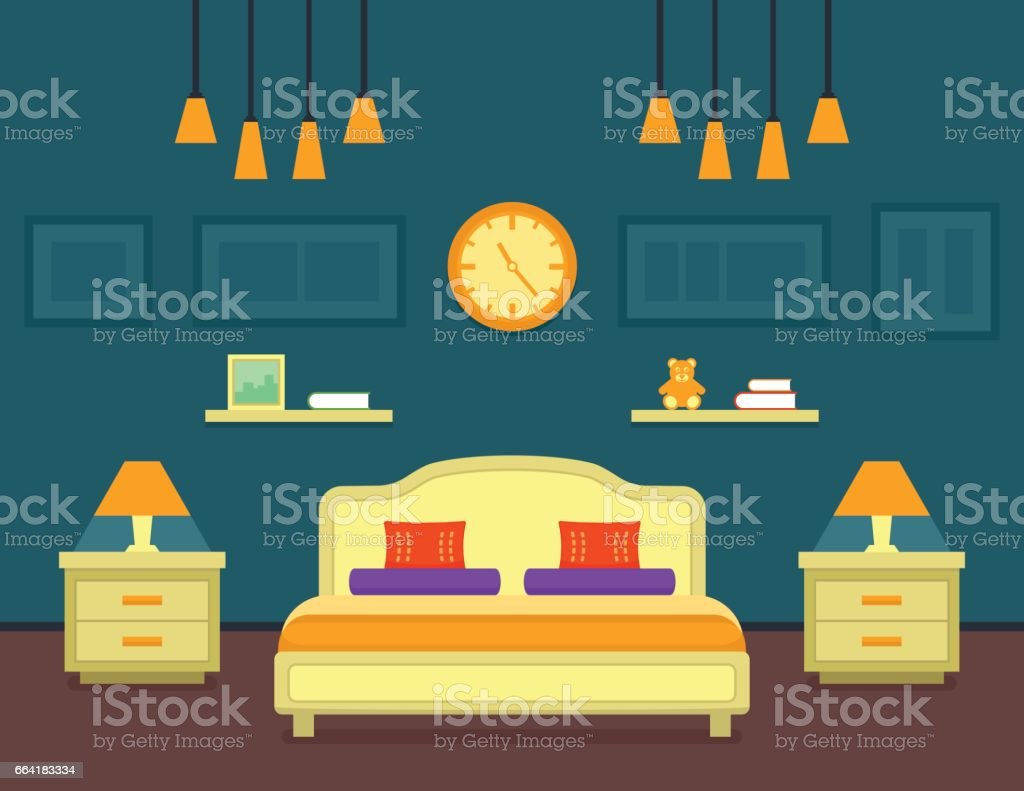 night table illustrations