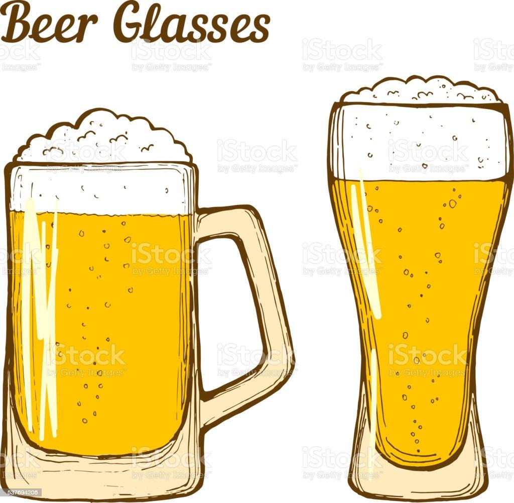 beer glass clip art vector