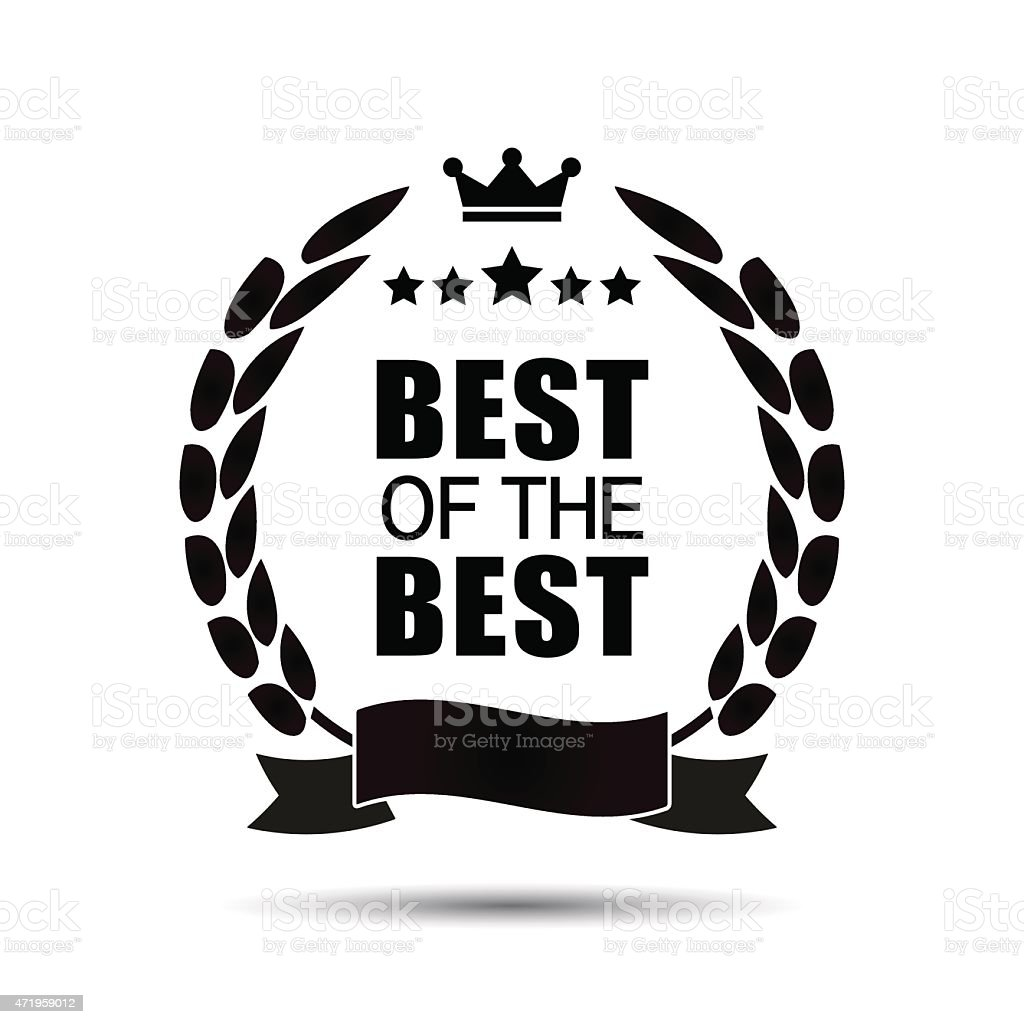 Best Of The Best Icon Stock Vector Art 471959012 Istock