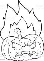 32 Halloween Kürbis Zum Ausmalen   Besten Bilder von ...