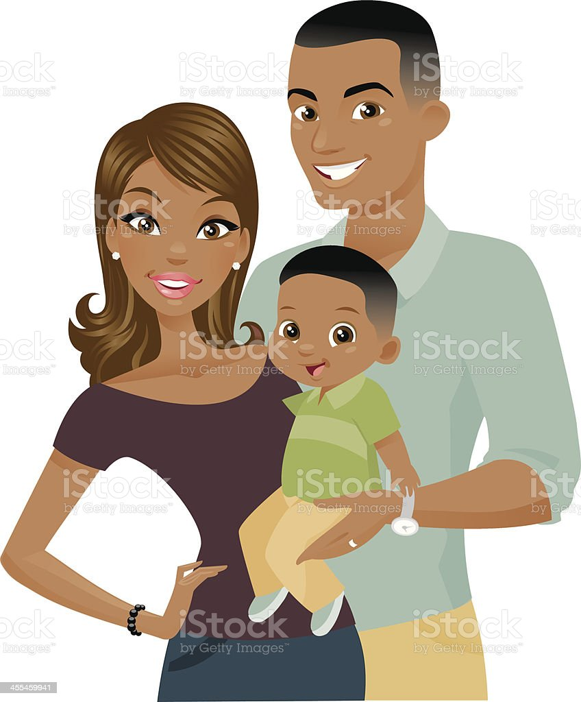 black family illustrations