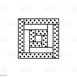 quilt clip vector block illustrations quilting