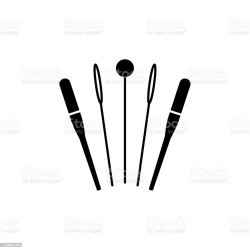Black White Vector Illustration Of Needles Pins Flat Icon Of Quilting Instrument Patchwork Sewing Tools Needlework Accessories Isolated On White Background Stock Illustration Download Image Now iStock