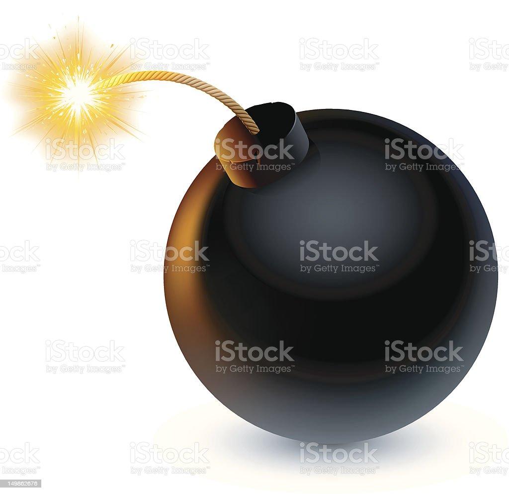 royalty free bomb clip art vector