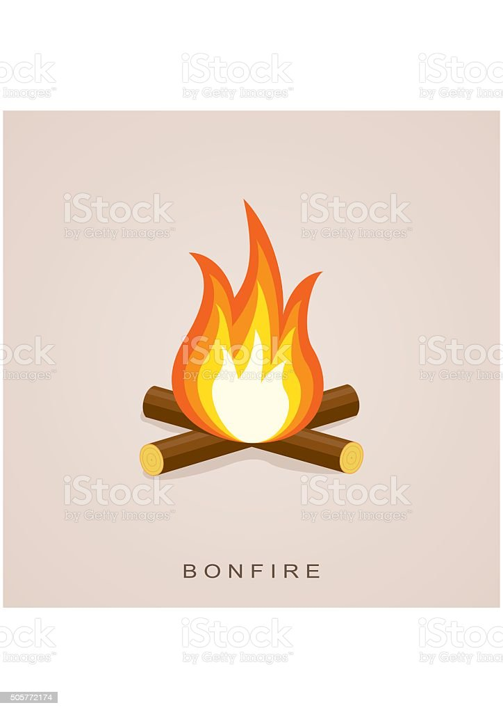 royalty free bonfire clip art