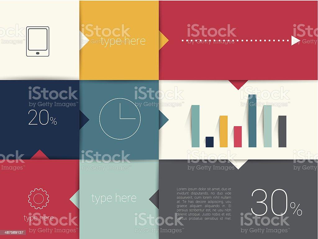 hight resolution of box diagramma flat design minimalista box diagramma flat design minimalista immagini vettoriali stock