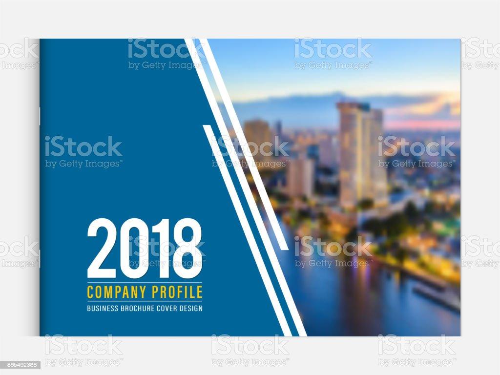 Business Brochure Cover Design Template Corporate Company Profile Or  Calendar Cover Annual Report Catalog Magazine Flyer