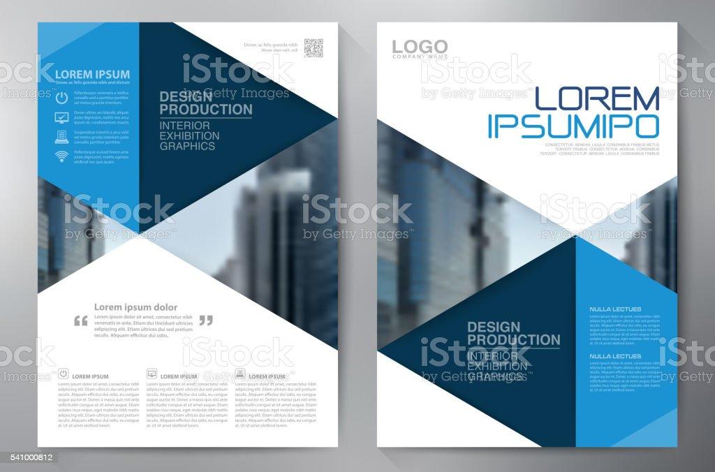 Business Brochure Flyer Design A4 Template Stock Vector Art & More