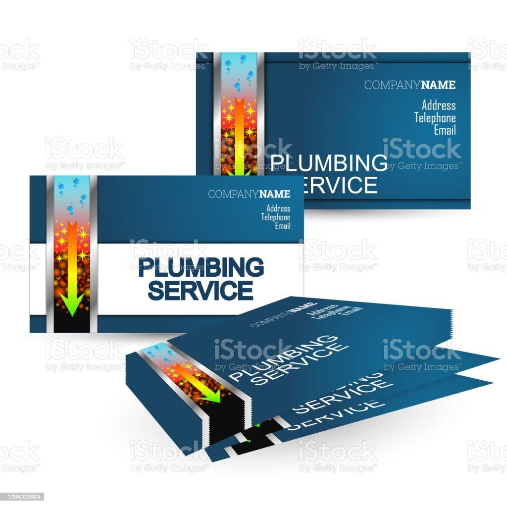 Business Card Repair Plumbing Stock Illustration Download Image Now Istock