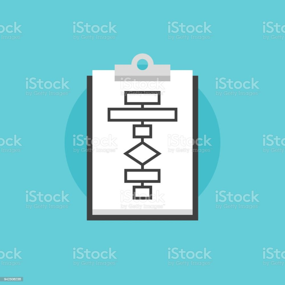 medium resolution of business flowchart process flat icon illustration royalty free business flowchart process flat icon illustration stock