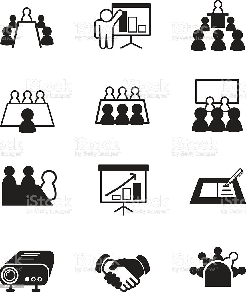 Business Meeting And Conference Stock Vector Art & More