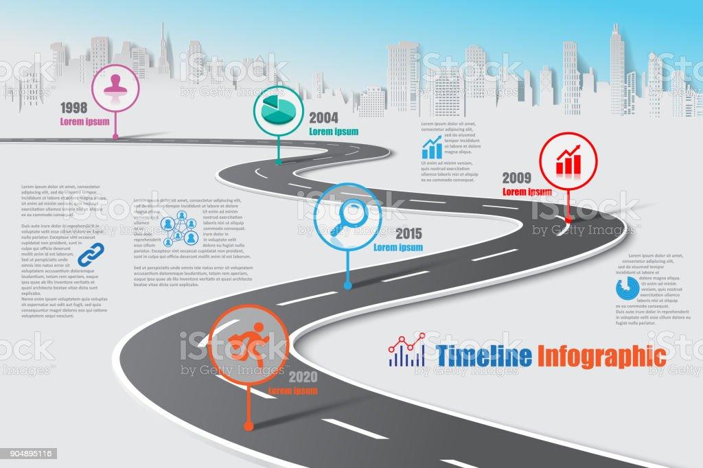 best road map illustrations