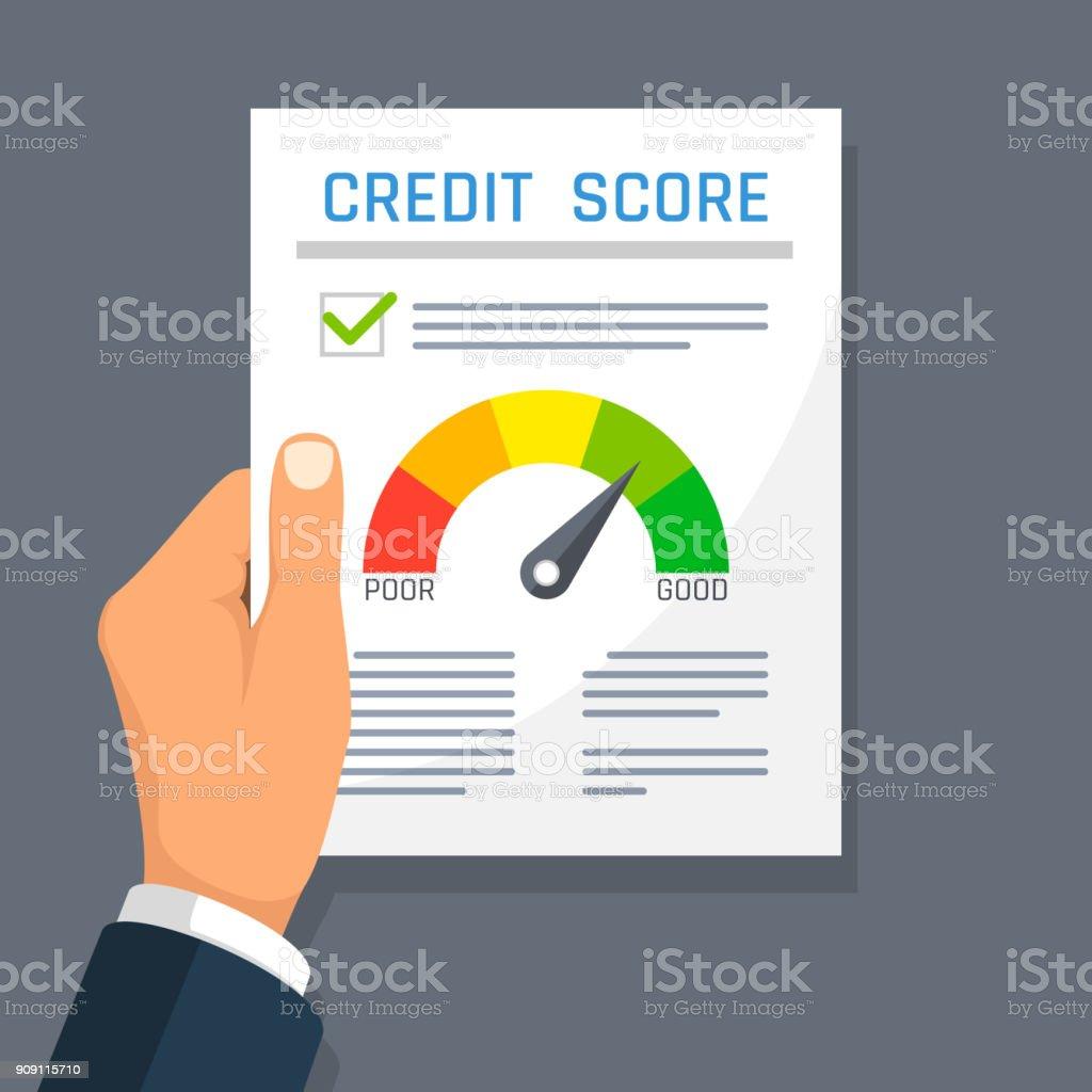 credit score clip art vector