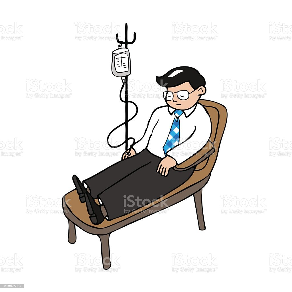 Royalty Free Chemotherapy Room Clip Art Vector Images