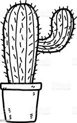 cactus clip vector illustrations graphics