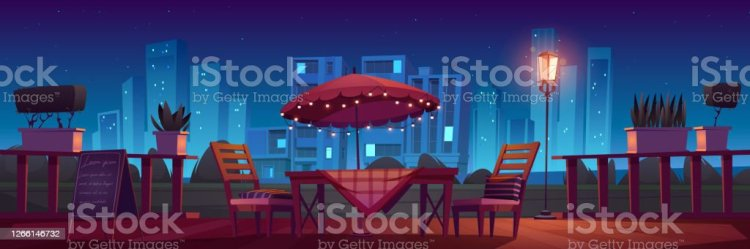 36 Dining Outside Night Illustrations Royalty Free Vector Graphics & Clip Art iStock