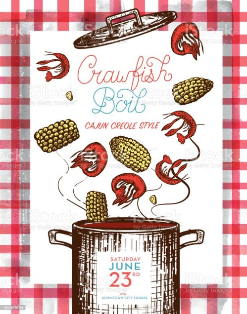 small resolution of cajun creole crawfish boil invitation design template royalty free cajun creole crawfish boil invitation design