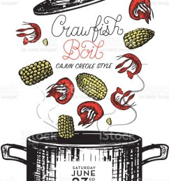 cajun creole crawfish boil invitation design template royalty free cajun creole crawfish boil invitation design [ 807 x 1024 Pixel ]