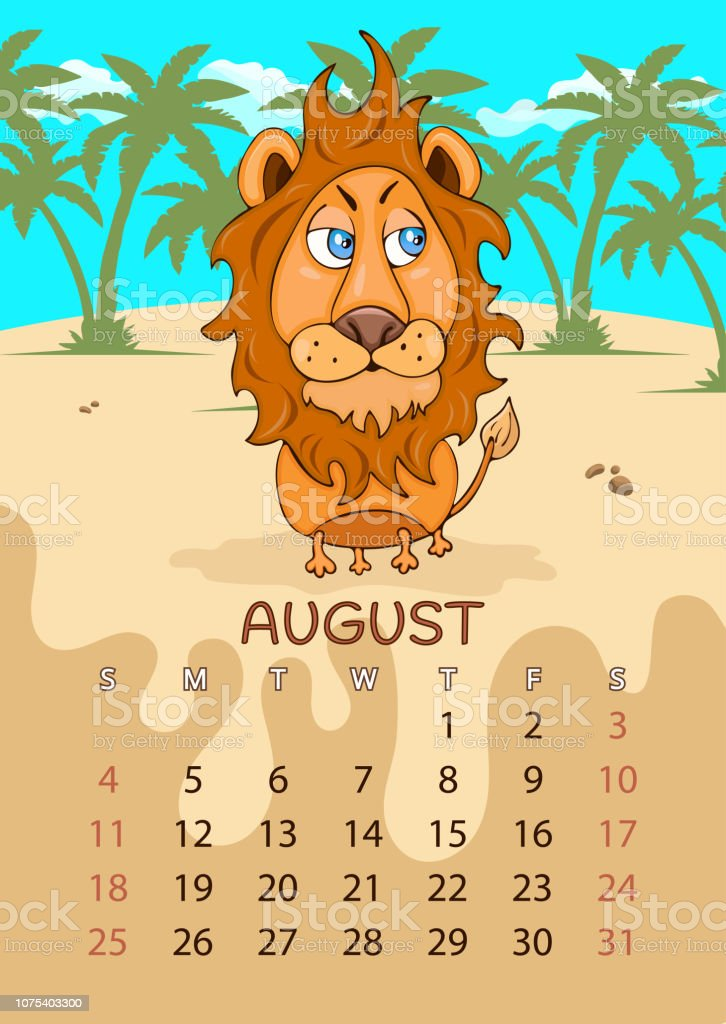 calendar for 2019 with
