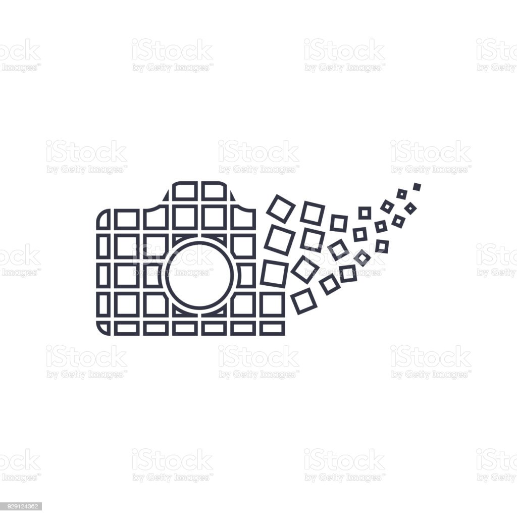 Camera Photography Logo Icon Template Digital Camera