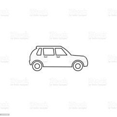 Vw Golf Mk2 Gti 16v Wiring Diagram Trailer Plug Database Car Icon Stock Vector Art More Images Of 4x4 872518292 Istock Volkswagen Source Mk4