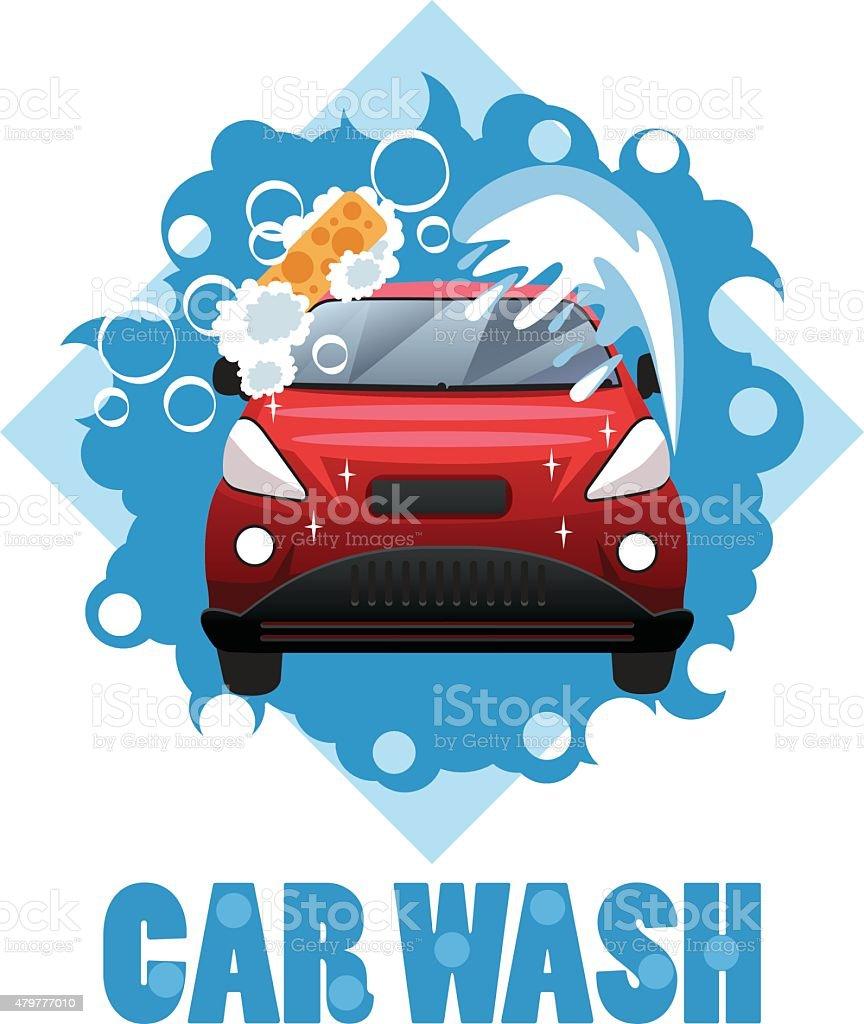 royalty free car wash clip art