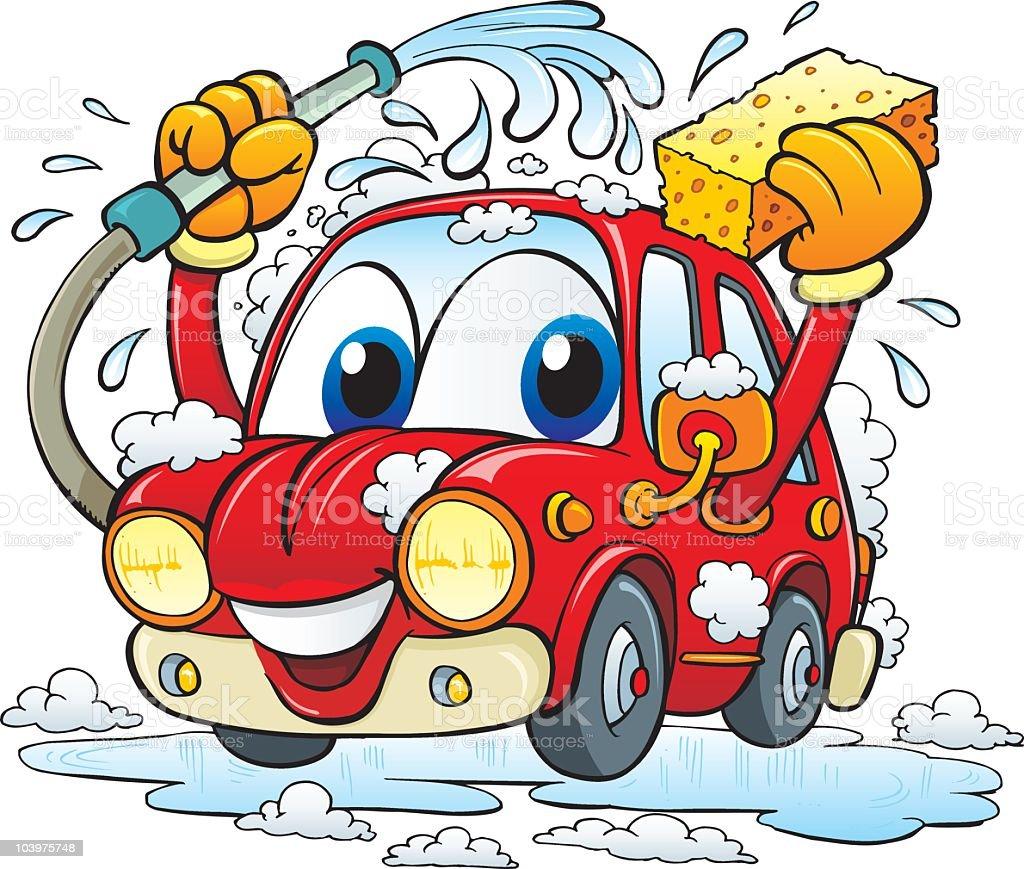 best car wash illustrations