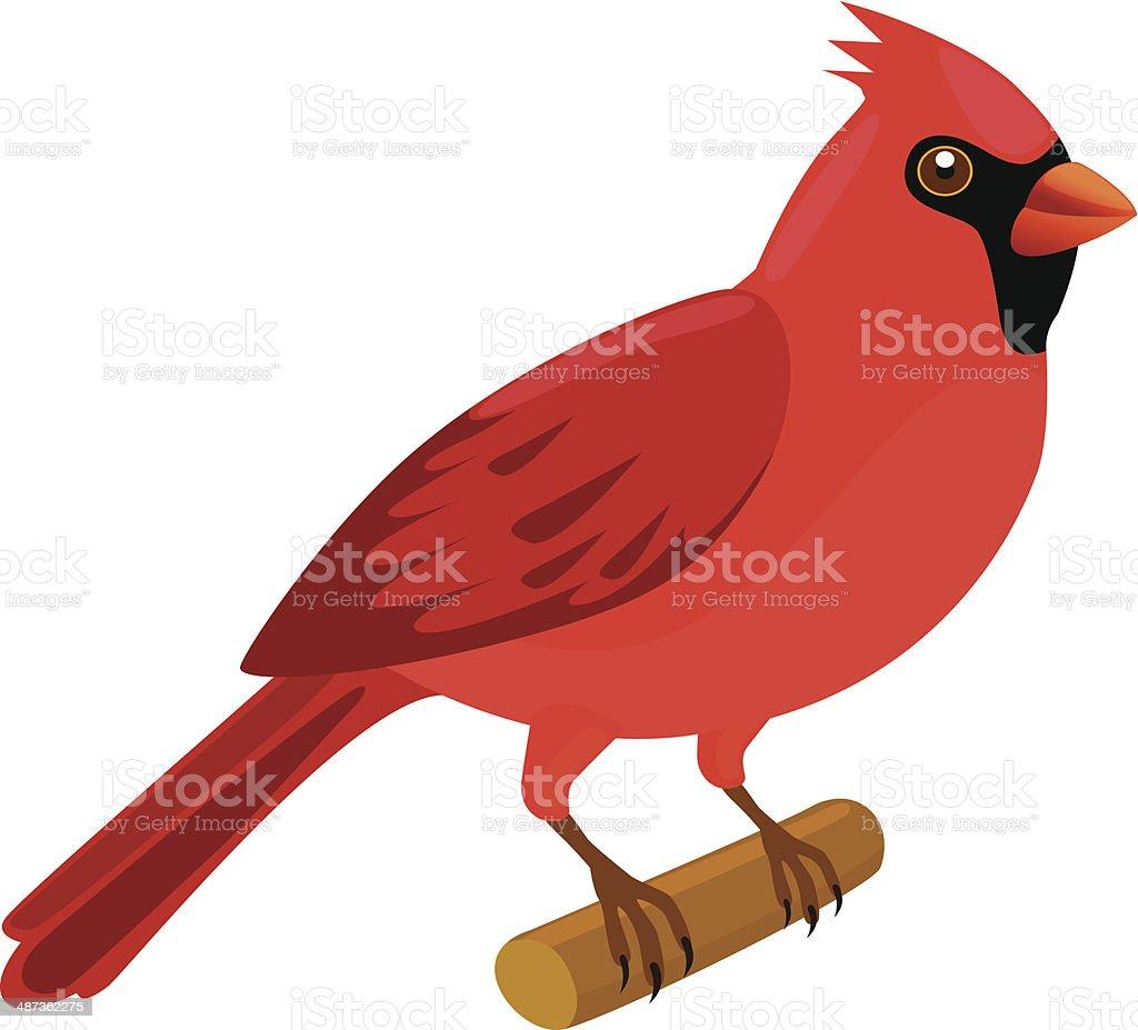 cardinal bird clip art vector