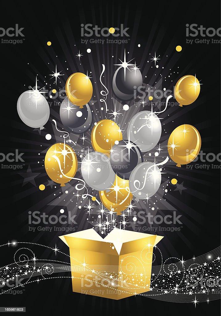 silver balloon clip art