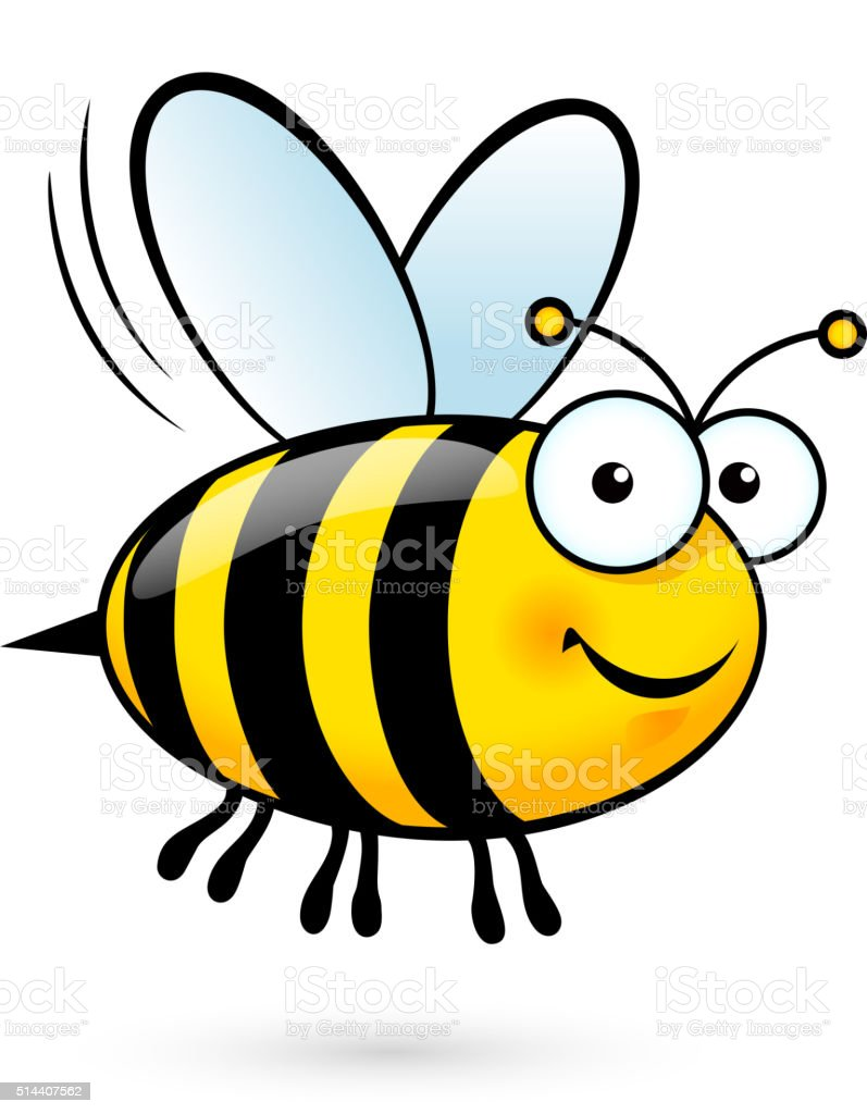 bee illustrations royalty-free