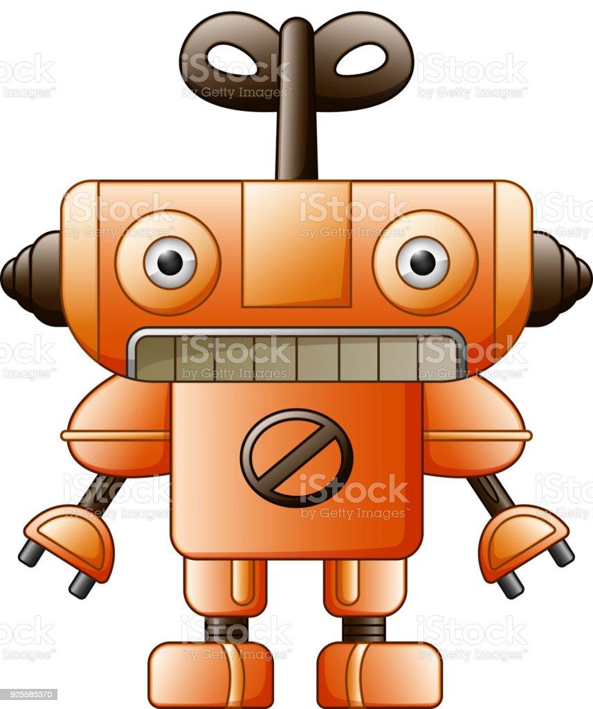 cartoon cute robot toy