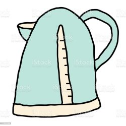 12 Electric Kettle With Boiling Water A Color Hand Drawing Illustrations Royalty Free Vector Graphics & Clip Art iStock