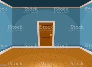 vector floor hardwood illustration empty cartoon clip door flat background illustrations graphics retro similar