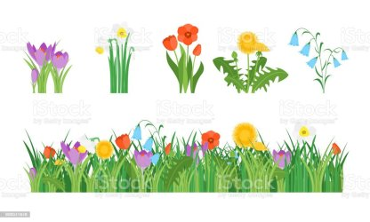 178 090 Flower Garden Illustrations Royalty Free Vector Graphics & Clip Art iStock