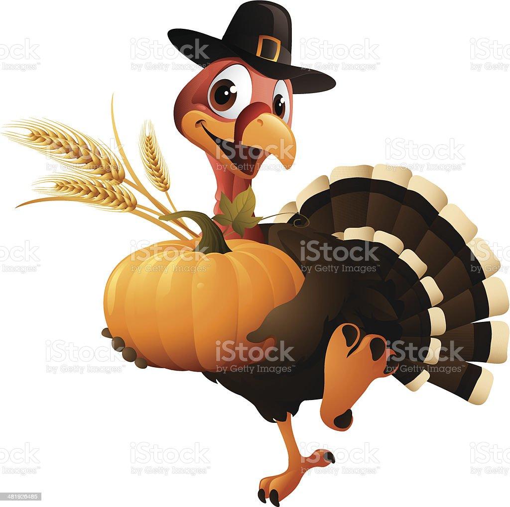 thanksgiving turkey clip art vector