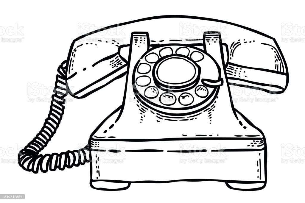 Cartoon Image Of Phone Icon Telephone Symbol Stock Vector