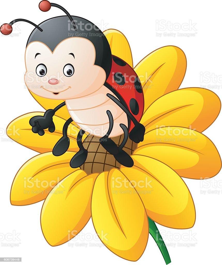 smiling sunflower clip art vector