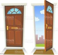 Royalty Free Closed Door Clip Art, Vector Images ...