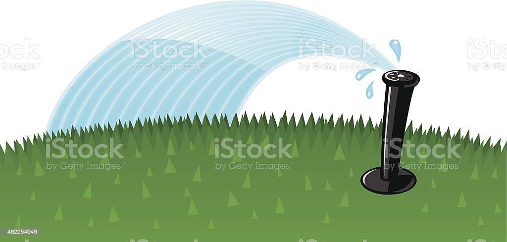 agricultural sprinkler clip art