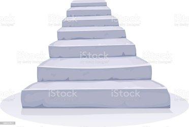 cartoon stairs stone vector brick achievement industry finance construction architecture istockphoto