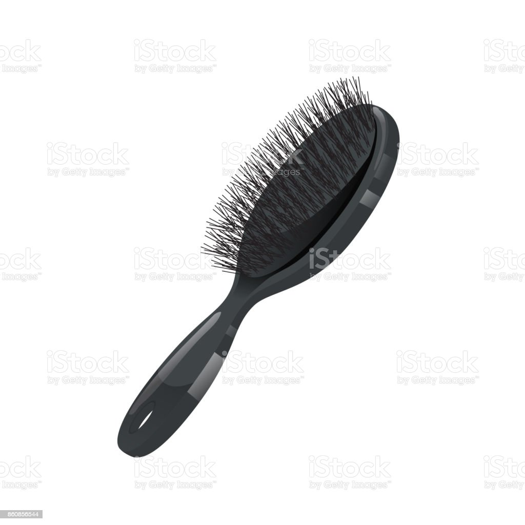 royalty free bristle hair brush