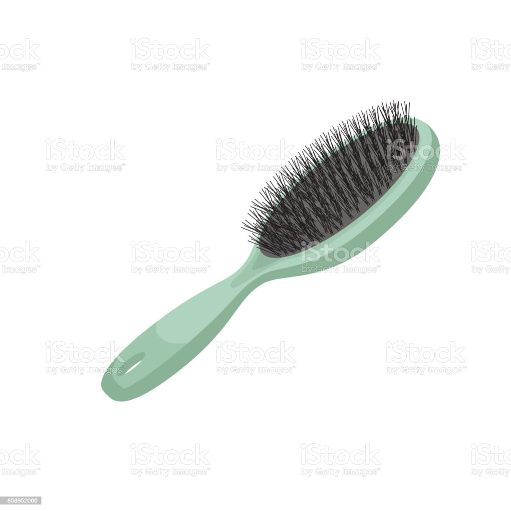 hairbrush illustrations royalty-free