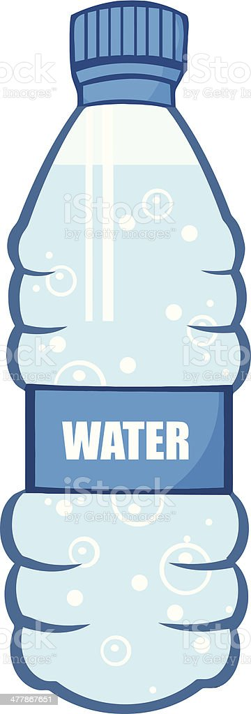 water bottle clip art vector