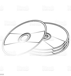cd compact disk icon image illustration  [ 1024 x 1024 Pixel ]