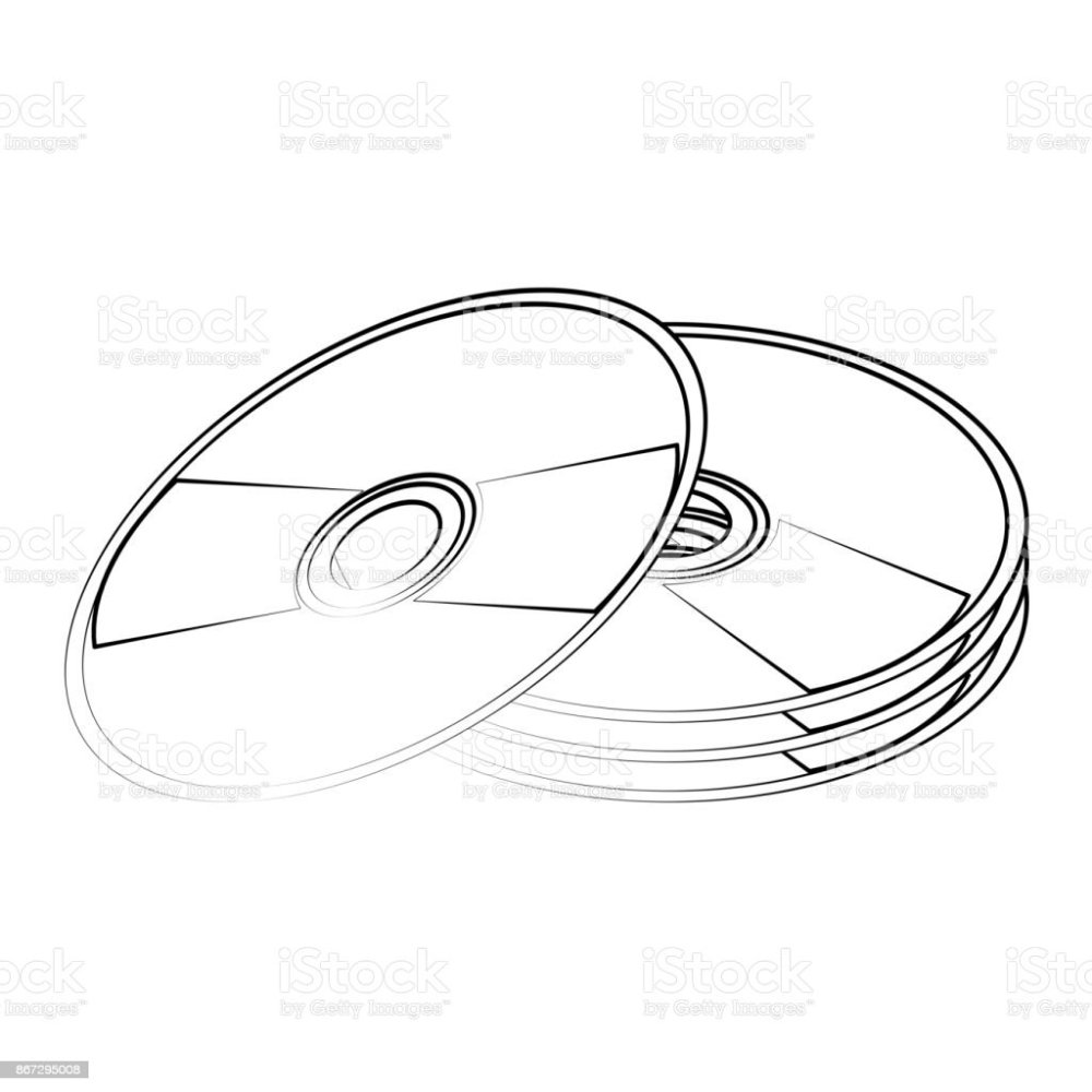 medium resolution of cd compact disk icon image illustration