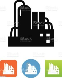 Chemical Plant Icon Stock Vector Art & Of