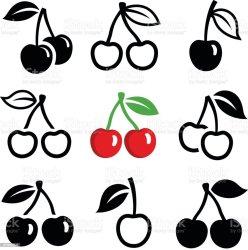 64 042 Cherry Illustrations Royalty Free Vector Graphics & Clip Art iStock