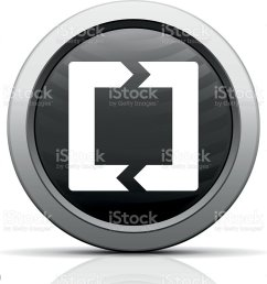 chevron chart icon on a round button royalty free chevron chart icon on a [ 1024 x 921 Pixel ]