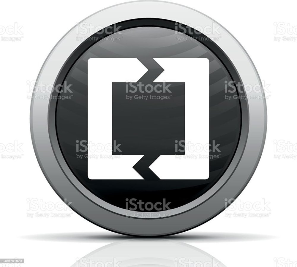 medium resolution of chevron chart icon on a round button royalty free chevron chart icon on a