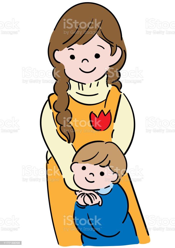 Clip Art Childcare : childcare, Childcare, Teachers, Friends, Children, Stock, Illustration, Download, Image, IStock